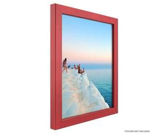 "Craig Frames, 24x24 Inch Modern Red Picture Frame, Colori 0.75"" Wide (720242424)"