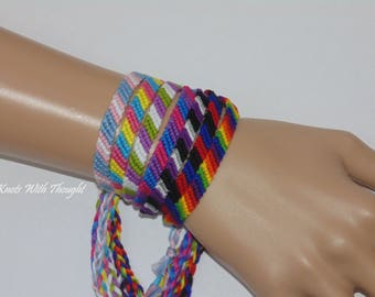 Pick Your Pride friendship bracelet (Buy 3 Get 1 Free!)