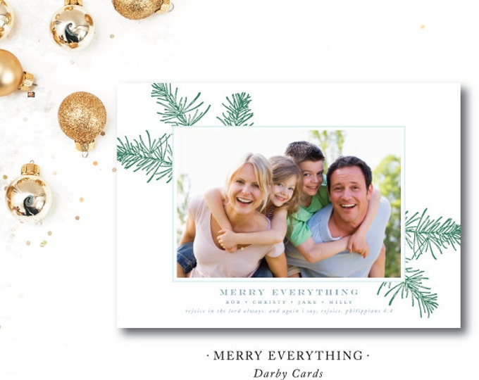 Featured listing image: Merry Everything Christmas Cards
