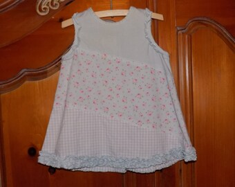 Sz. 6/9 mo. Cute Shabby Chic Shift Dress