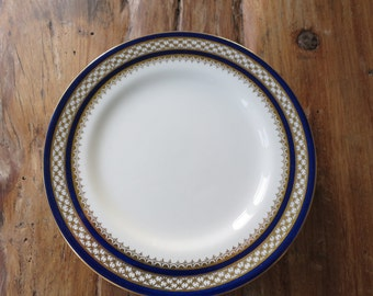 Set of 6 Aynsley  Antique china tea plates