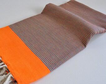 Turkish Towel Peshtemal towel  for beach and bath multicolor