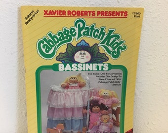 Vintage Book, Pattern Book, Craft Book, Cabbage Patch Kids, # 7860 Plaid
