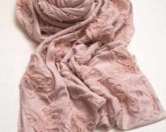 Stretchy Textured Pink WRAP -  Newborn photography Props