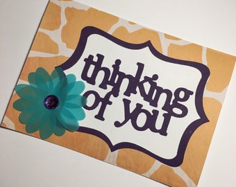 Thinking of You Card **READY TO SHIP**