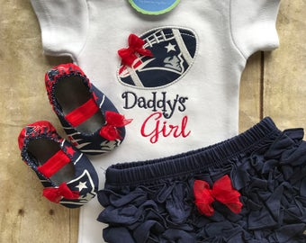 New England Patriots Inspired  Baby Gift Set