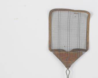 Vintage Universal Bug Swatter Fly SwatterMetal Mesh Fly Swatter