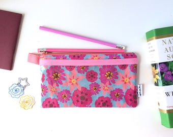 Springtime Divided Pencil Case (handmade philosophy's pattern)