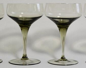 4 Danish Modern Orrefors Sven Palmquist Rhapsody Glasses