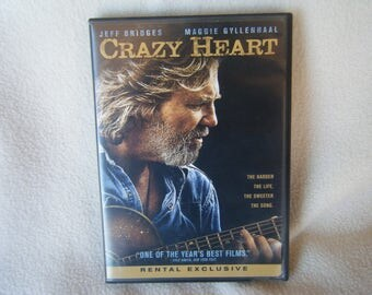 DVD Movie Crazy Heart - Used