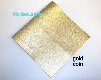 Gold leather pieces , leather fringes , leather for tassels , leather tassels , genuine leather piece