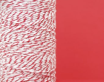 Cherry Red Cotton Bakers Twine