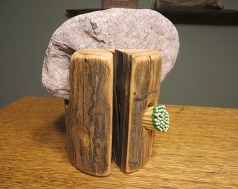 Match Striker made from Lake Superior Driftwood.