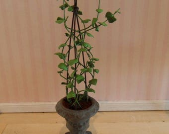 Green climbing plant  to your dollhouse