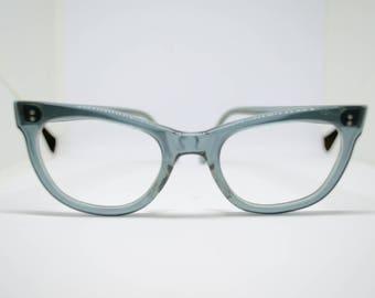 1950's Clear Blue Vintage Frames