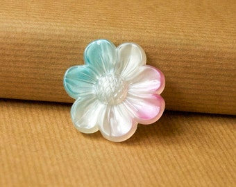 Ombre Flower Pin Brooch