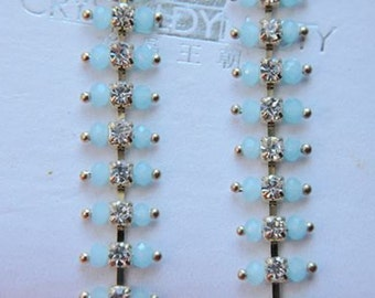 20cm   bead chain with rinstone