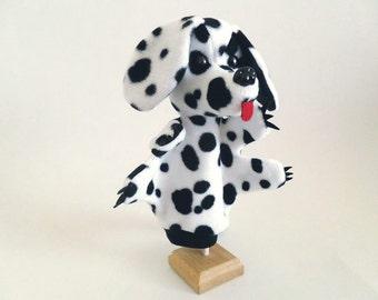 Spot, the dalmatian dog