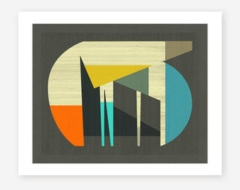 Giclée Fine art Print, Abstract Artwork by Jazzberry Blue, 'PROBABLY'