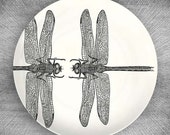 dragonfly melamine dinnerware