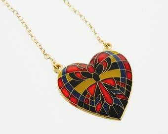 Butterfly Pendant Necklace - 18k Gold Filled