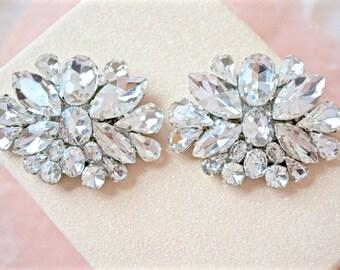 Rhinestone Shoe Clips,Bridal Shoe Clips,Wedding Shoe Clips,Shoe Jewelry,Shoe Accessories,Crystal Shoe Clips,Rhinestone Shoes
