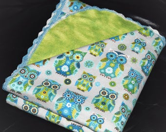 Baby Double-Sided Flannel Blanket