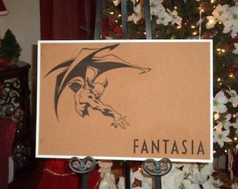 Fantasia's Chernabog Cork Board