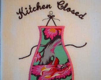 Kitchen Closed-Gone Shopping Cotton Towel