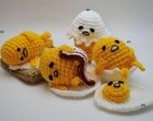 Crochet Lazy Egg PDF Pattern