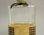 Vintage 1960s Christian Dior Diorling Perfume Bottle