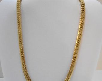 "Vintage 17"" Flat Chain Necklace (2310)"
