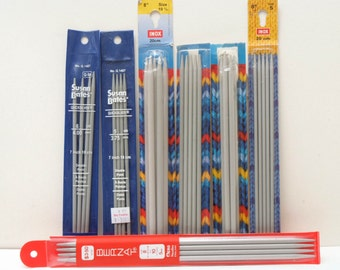 Lot of Double Point knitting needles
