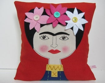 Frida Kahlo Cushion Pillow