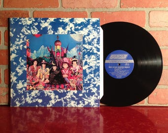 The ROLLING STONES Their Satanic Majesties Request Vinyl Record Album LP 1967 Gatefold Psych Rock Music Mick Jagger Vintage