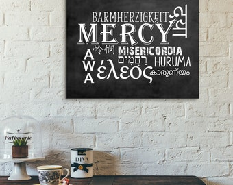 Mercy Art ~ Chalkboard Style