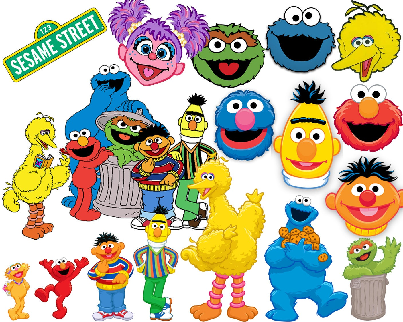 It's just a picture of Trust Printable Sesame Street Characters