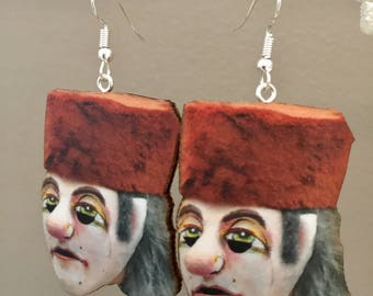 Ugly Face Earrings