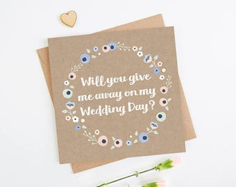 Will You Give Me Away Card