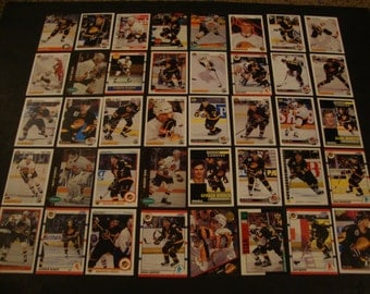 SALE - Vintage Team Lot of Vancouver Canucks Greats Hockey Cards - Star/Hall Of Fame Lot - NHL - Bure, Larionov, Linden, Ronning, Nedved,etc