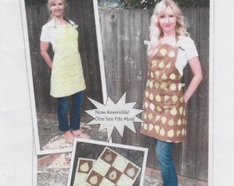 Apron & Potholders Sewing Pattern, DIY Sewing