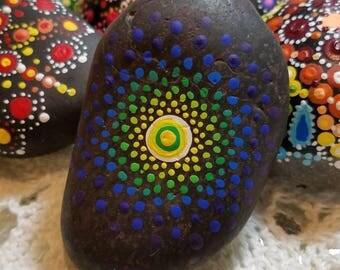 Radient Mandala Rock