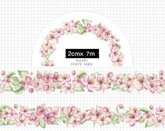 1 Roll of Limited Edition Washi Tape- Sakura blossom