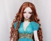 Azure Druid OOAK handmade dress set for bjd dollfie sd sd10 sd13 delf sadol clothing clothes size fantasy empress romantic lace style