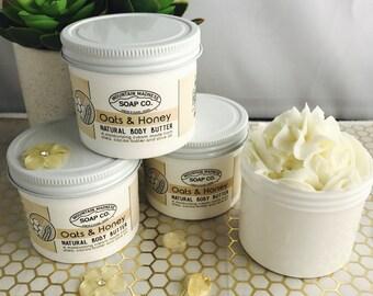 Oats & Honey Body Butter