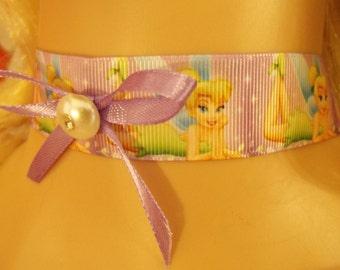 All Sizes Made To Order Sissy Choker CD Tinkerbell Lavender Girl Teenager Disney Disneyland