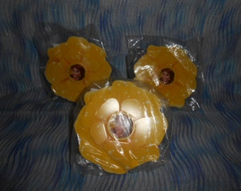 Three Packs Of Flower and Ring Kits-New Still In The Bags