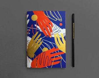 Hands Sketchbook (Blue)