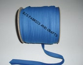 "Double Fold Bias Tape 1/2"" ROYAL BLUE 25 Yards Wholesale"