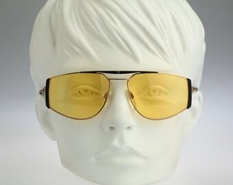 Silhouette M 6152 V 6054, Vintage aviator sunglasses, 80s mens & women rare and unique / NOS